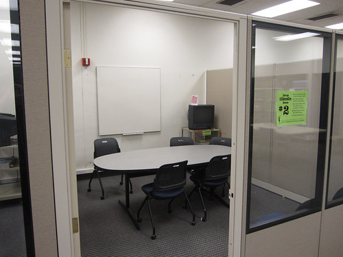 Picture of a collaboration room