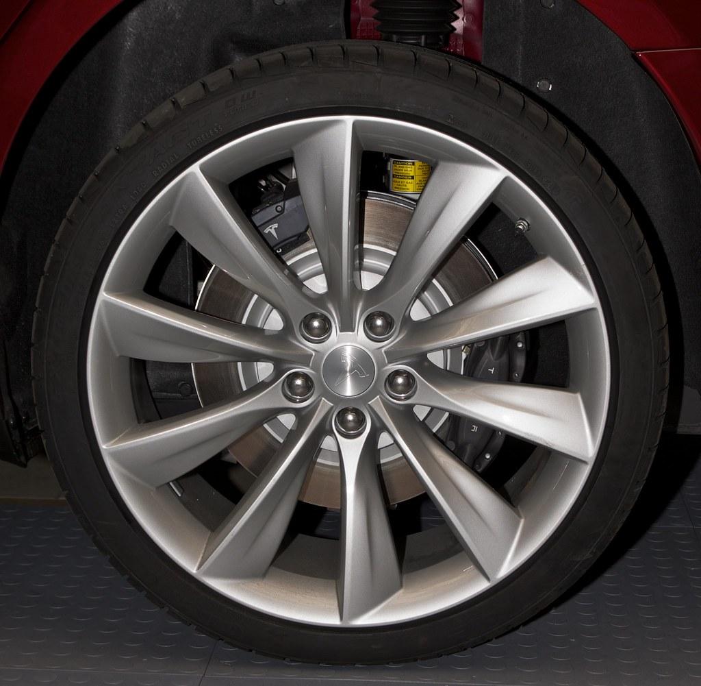 Tesla Model S Regenerative Braking Wheel | The Tesla Motors … | Flickr