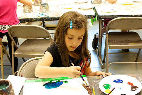 Lauren painting.