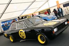 Schwarze Witwe beim Opel-Treffen in Oschersleben