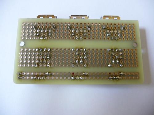 USB Power Adapter - Lötseite