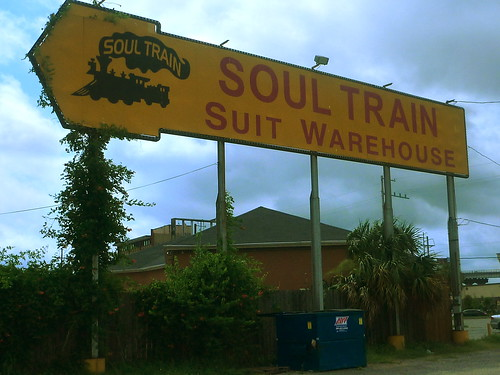The Soul Train Warehouse in Gentilly. Photo by Melanie Merz.