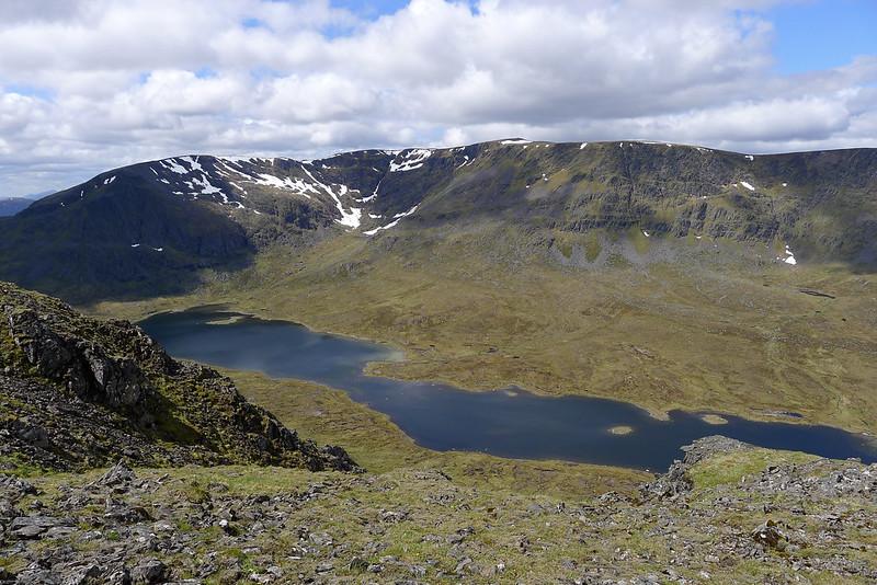Ben Alder above Loch a' Bhealaich Bheithe