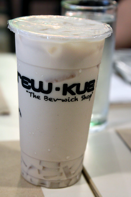 Brew-Kus Wintermelon Tea Latte