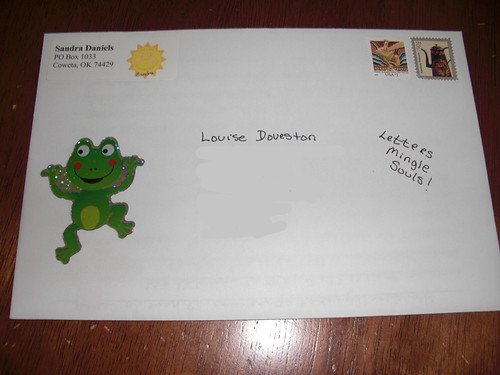 Letter posted for Louise D. 5/16/12