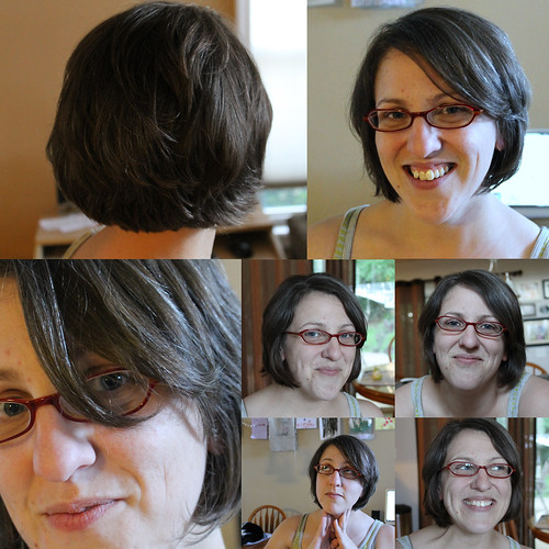 every new haircut needs a collage, right? ;)