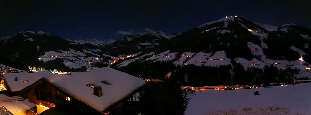 Nacht-Panorama Alpbach
