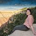 Small photo of Alyona Goncharova at Grand Canyon