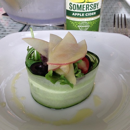 #Somersby Refreshing Ploughman #Salad - tossed with Somersby Apple Cider Vinaigrette