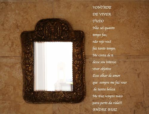 VONTADE DE VIVER TUDO by RUIZ POETA