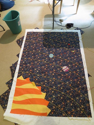 Space Baby Quilt