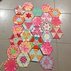 Yes, no, maybe? What does it need? #candiedhexagons #patchwork #quilt #epp #englishpaperpiecing