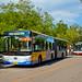 [Buses in Beijing]京华 Jinghua BK6160K2 北京公交集团 BPT #74400 Front-left at The Summer Palace Bus Stop