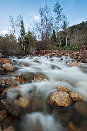 longexposure trees white motion cold tree green water rock clouds utah nikon rocks bluesky waterfalls aspens flowing pinetrees springtime coldwater springrunoff americanforkcanyon flowingwater d90 silverlakeflat lr4 americanforkut