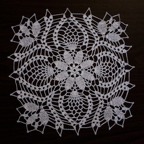 144/365 - Doily by MossyOwls