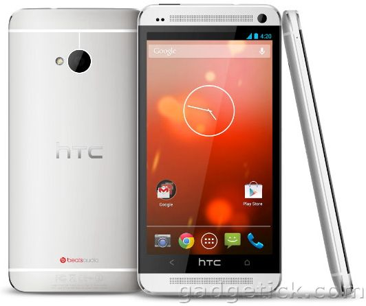 HTC One со стоковым Android