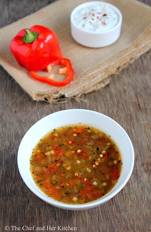 spicy bell pepper sauce