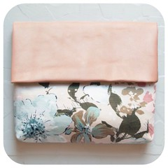 Cherry Blossom Leather Clutch