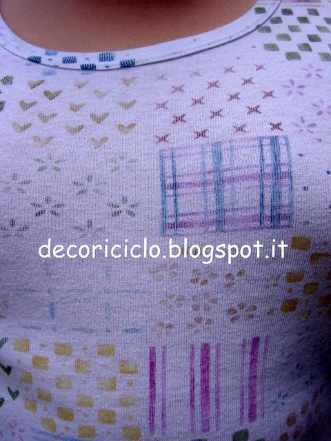 canotta patchwork dipinta a mano - part. 1
