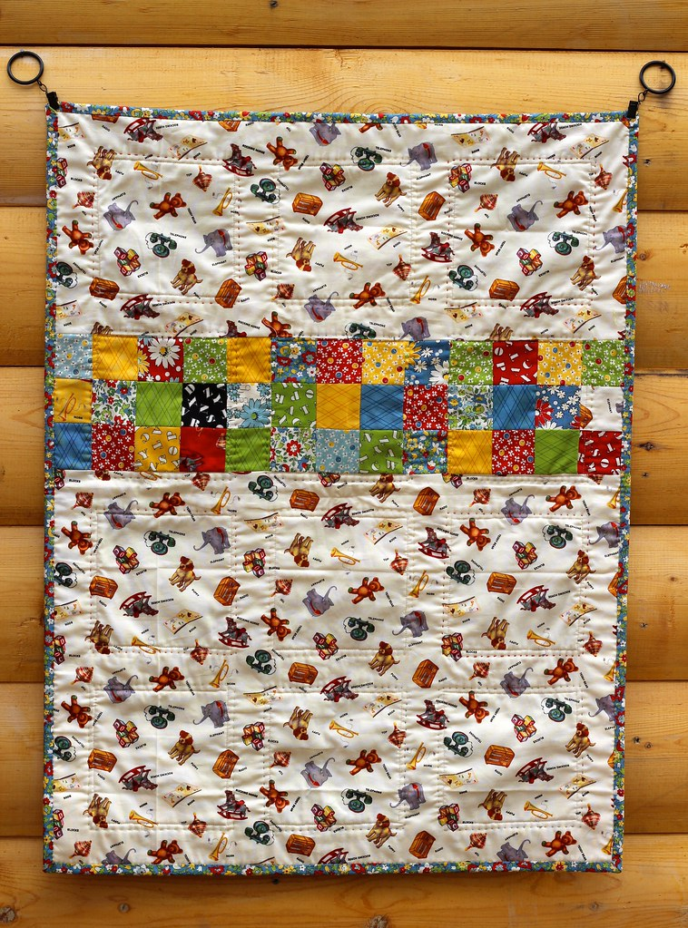 American Jane 9 Patch Baby Quilt