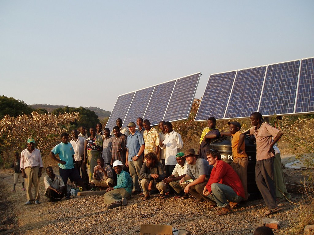 Engineers Without Borders Project in Tanzania | Solar panels… | Flickr