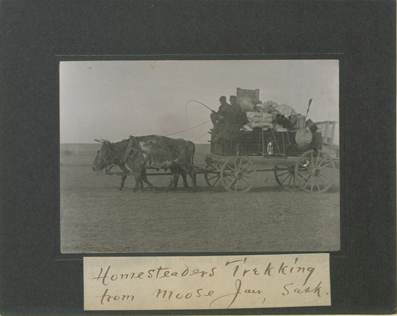 Canadian Map Territories%0A Homesteaders set out from Moose Jaw  Saskatchewan  Deposited by Lewis Rice  in       copyright number        Source