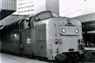 55021. Argyll and Sutherland Highlander.   Leeds. March 6th 1981.