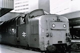55021. Argyll and Sutherland Highlander.   Leeds. March 6th 1981.