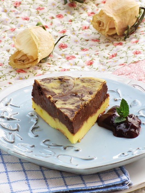 Brownie Cheese Cake alla Violetta