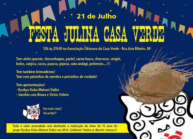 Festa Julina Casa Verde