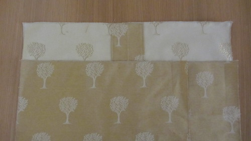 Envelope cushion pieces