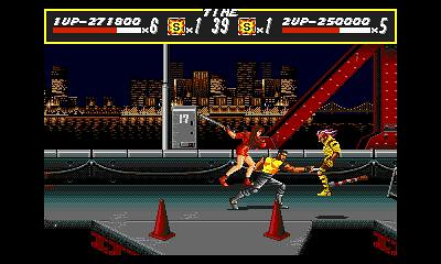 3D Streets of Rage (3DS)