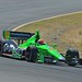 James Hinchcliffe rolls through the Turn 6 Carousel at Sonoma Raceway