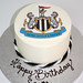 Newcastle united cake