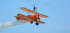 Breitling Wingwalkers - Airbourne, Eastbourne, August 2013
