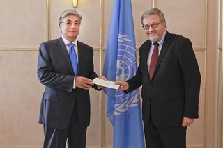 NEW PERMANENT REPRESENTATIVE OF DENMARK PRESENTS CREDENTIALS TO DIRECTOR-GENERAL OF UNOG