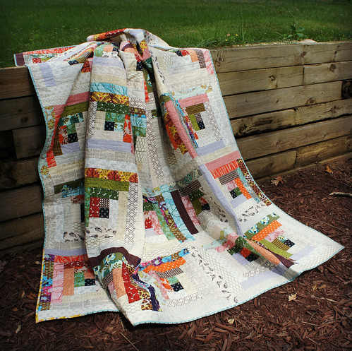 Quiet Cabin Quilt - Draped 2