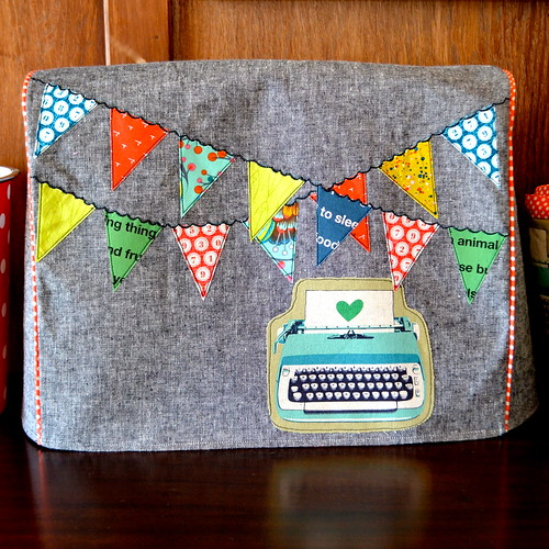 modern sewing machine cover