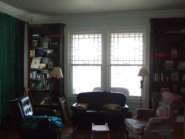 front room before