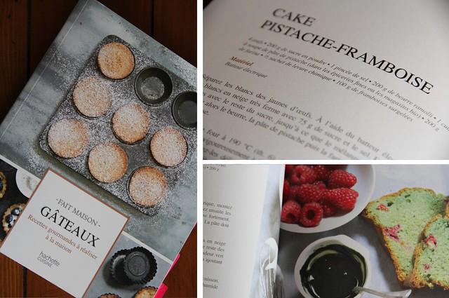 Raspberry Pistachio Cake from Fait Maison