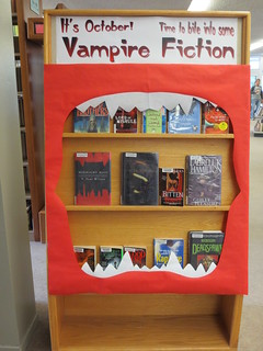 Vampire Fiction Display - Oct 2013 - Side B