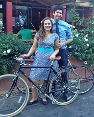 Bike Date at Cafe Stritch