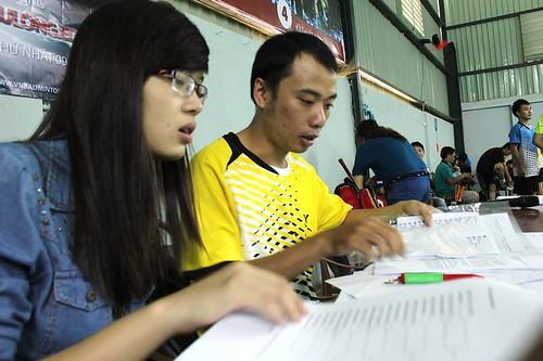 Hình ảnh học cầu lông tại Hoccaulong.edu.vn