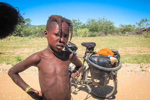 Himba kids in Kaokoland