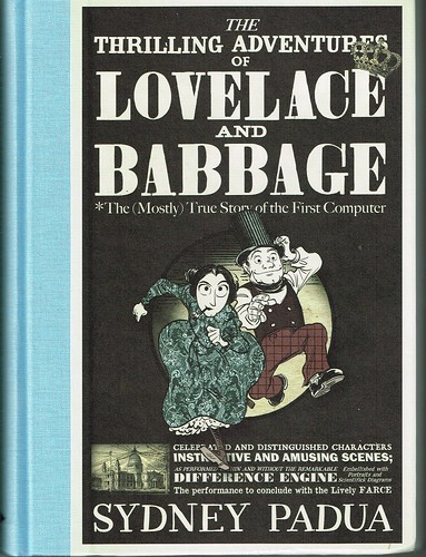 Lovelace and Babbage Book Cover UK