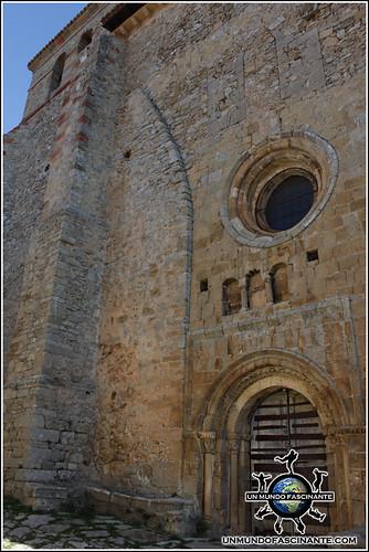 Iglesia de Nuestra Señora del Castillo, Calatañazor, Soria. España.