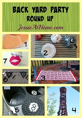 Back Yard Party Crochet Round Up from Jessie At Home