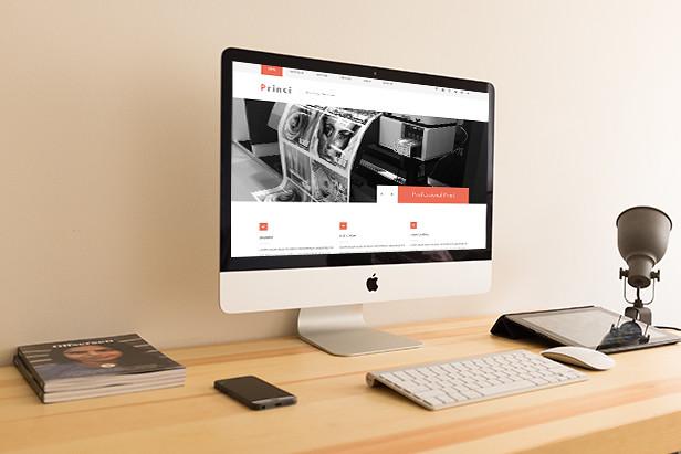 Princi - Printing Services Web Template