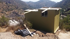 Flip roof observatory, almost done.