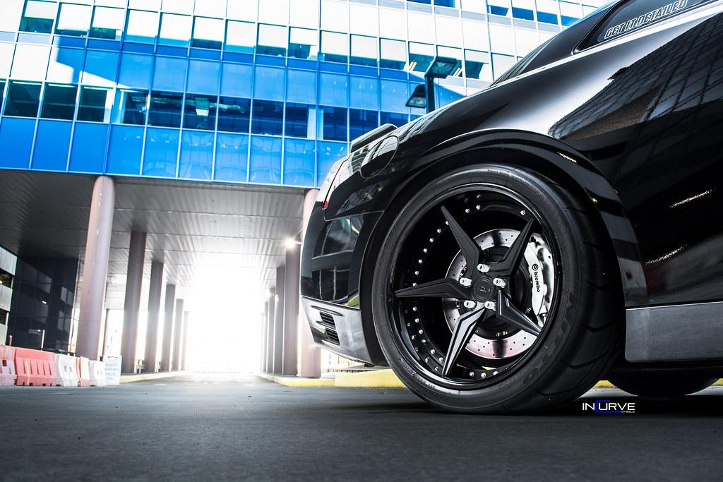 R35 GTR | Incurve Forged Wheels